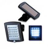 36 LED Solar Security Light (Black)