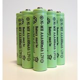 5-Pack NiMH AAA 600mAh 1.2V Rechargeable Batteries