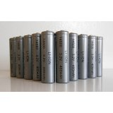 Lithium Ion 10-Pack AA 400 mAh Rechargeable Batteries