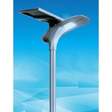 Solar Parking Lot Light (Sleek)