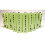 10-Pack NiMH AA 1200mAh 1.2V Rechargeable Batteries