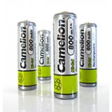 Camelion 4-Pack NiCd AA 600mAh 1.2V Rechargeable Batteries