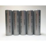 Lithium Ion 5-Pack AA 400 mAh Rechargeable Batteries