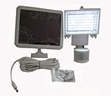 Super Bright 60 LED Security Solar Light (white frame)