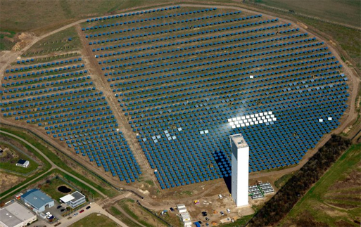 Germany's first solar-thermal project