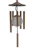 Solar Illuminated Wind Chime (Copper)