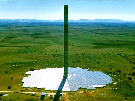 Solar Tower in Australia